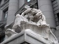 Image for Lion on The Four Continents: Africa Sculpture - NYC, NY