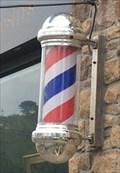 Image for cabinet des curiosite barber poles Perros Guirec Bretagne France