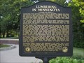 Image for Lumbering in Minnesota Historical Marker - rural Sandstone, MN