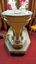 Image for St. John's Holy Water Font - Truro, NS
