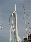 Image for Flag Pole - Spinnaker Tower Portsmouth, UK