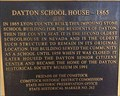 Image for Dayton School House - 1865