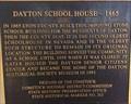 Image for Dayton School House - 1865