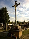 Image for Central Cross Tuchlovice Cemetery, Czechia