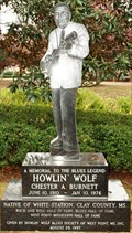 Image for Howlin Wolf Monument - West Point, MS