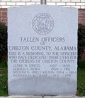 Image for Chilton County Police Officer's Memorial - Clanton, AL