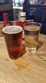 First drinks in 100 days...