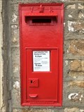 Image for Victorian Wall Post Box - Thoralby, nr Hawes, Yorkshire, UK