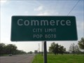 Image for Commerce, TX - Population 8078