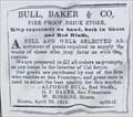 Image for Bull, Baker and Co. - Shasta, California - 1854
