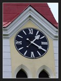 Image for Clock of the Ss. Cyril and Methodius Church - Ohnišov, Czech Republic