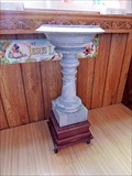 Image for St. Alban's the Martyr Church Baptismal Font  - Ashcroft, BC