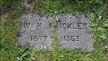 Image for W. H. Stickler - Mt. Union Cemetery - Philomath, OR