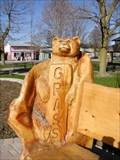 """Image for """"GREEN PARK BENCH  BEARS""""   Brooklin, Ontario CANADA"""