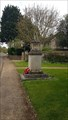 Image for Combined WWI / WWII Memorial Cross - St Mary - Duddington, Northamptonshire