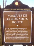 Image for Vásquez de Coronado's Route