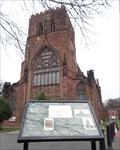 Image for Shrewsbury Abbey - Historic Marker - Shrewsbury, Shropshire, UK.