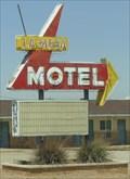 Image for La Mesa Motel - Neon - Route 66, Santa Rosa, New Mexico, USA.