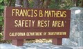 Image for Francis B. Mathews Safety Rest Area - Calif. Hwy. 299