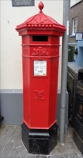 Image for Victorian Post Box - Tenby, Pembrokeshire, Wales.
