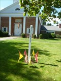 Image for Foster Memorial Church Peace Pole - Springfield, MA