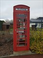 Image for Red phone box book exchanges - Baron-sur-Odon, France
