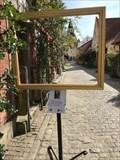 Image for Gade i Faaborg med Klokketårnet - Faaborg, Danmark