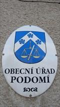 Image for Znak obce - Podomi, Czech Republic