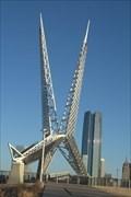 Image for Skydance Bridge - Oklahoma City, Oklahoma USA