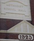 Image for 1925 - Methodist School Hall, East Maitland, NSW, Australia