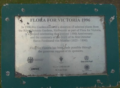From the Royal Botanic Gardens, Melbourne