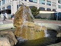 Image for Jack London Square rock fountain - Oakland, CA