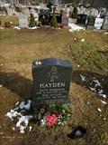 Image for Katy Desmond Hayden - Figure Skater - Cedar Grove Cemetery - Boston, MA