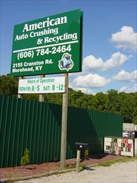 American Auto Crushing Recycling Sy Morehead Ky