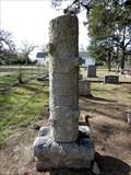 Image for C. J. Shelton - Fields Store Cemetery, Fields Store, TX