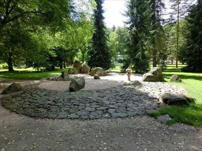 Japanese Stone Garden, Karlovy Vary, Czech Republic   Japanese Gardens On  Waymarking.com