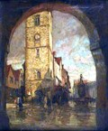"""Image for """"The Clock Tower St Albans"""" by Henry Mitton Wilson – High St, St Albans, Herts, UK"""