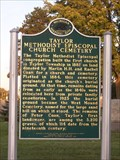 Image for Taylor Methodist Episcopal Church Cemetery