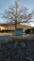 Image for Hermon Lee Ensign Horse and Dog Fountain ~ Bristol, Tennessee.