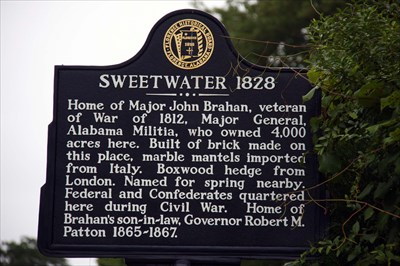 Sweetwater 1828 Florence Al Alabama Historical