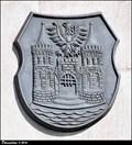 Image for Ceský Tešín CoA on Town Hall / Znak Ceského Tešína na radnici - Ceský Tešín (North Moravia)