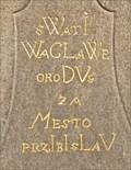 Image for 1743 - Statue pedestal - Pribyslav, Czech Republic