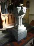 Image for Stone Lectern, St John the Baptist, Crowle, Worcestershire, England