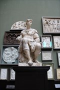 Image for Giuliano de' Medici (Duke of Nemours) - V&A Museum, Cromwell Gardens, London, UK