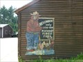Image for Vintage Smokey Bear Sign - Hopkington, MA