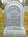Image for Amanda Pineo Headstone - Columbia Falls, ME