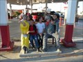 Image for Fresno Gas Station Sit By Me Statue