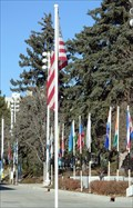 Image for Flags at Olympic Training Center - Colorado Springs, CO USA
