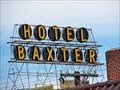 Image for 'Hotel Baxter' sign shines again