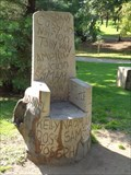 Image for Carved Chairs - Cwm Donkin Park, Swansea, Wales.